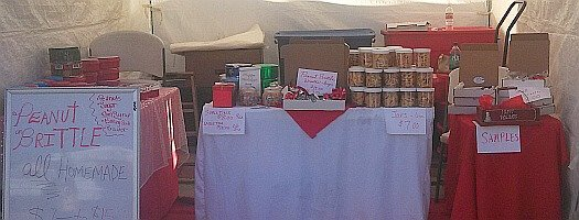Peanut Brittle Candy Booth