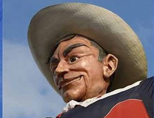 'Big Tex', coming back to the Texas State Fair