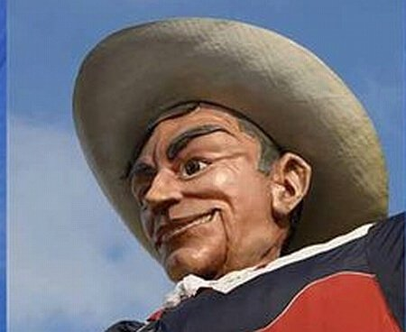 Big Tex, digital rendering