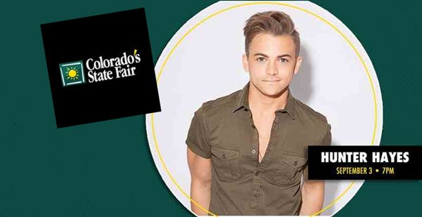 Colorado State Fair Hunter Hayes