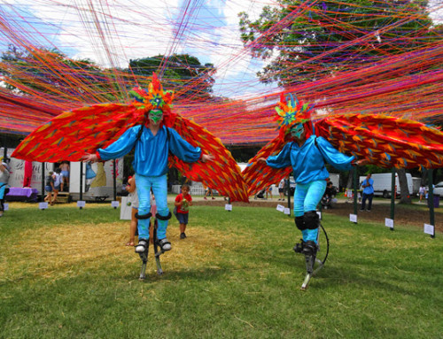 Lillipop Stiltwalkers